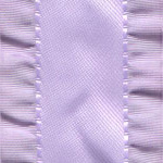 Double Ruffle Ribbon - Orchid LARGE