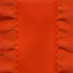 Double Ruffle Ribbon -  Red_LARGE