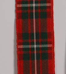 Edinburgh Plaid Ribbon - MacGregor LARGE