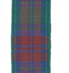 Edinburgh Plaid Ribbon - Lindsay LARGE