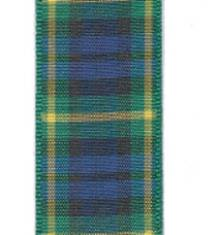 Edinburgh Plaid Ribbon - Gordon
