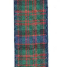 Edinburgh Plaid Ribbon - MacDonald