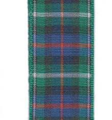 Edinburgh Plaid Ribbon - MacKenzie
