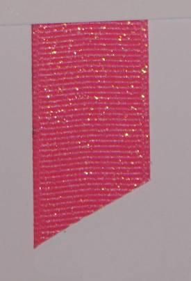 Dazzle (Glittered Grosgrain) - Hot Pink LARGE