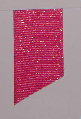 Dazzle (Glittered Grosgrain) - Shocking Pink LARGE