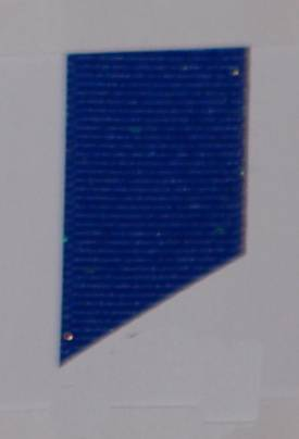 Dazzle (Glittered Grosgrain) - Electric Blue