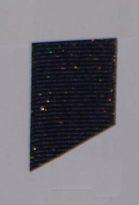 Dazzle (Glittered Grosgrain) - Light Navy