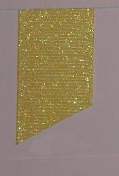 Dazzle (Glittered Grosgrain) - Baby Maize THUMBNAIL