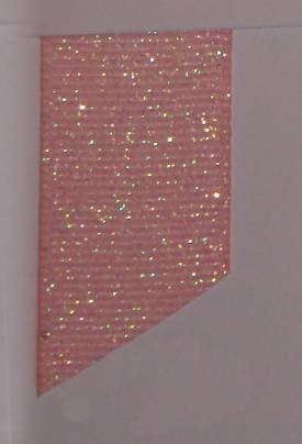 Dazzle (Glittered Grosgrain) - Light Pink LARGE