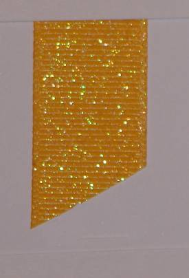 Dazzle (Glittered Grosgrain) - Yellow Gold LARGE