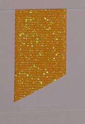 Dazzle (Glittered Grosgrain) - Yellow Gold THUMBNAIL