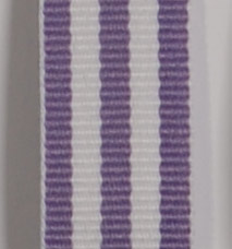 Grosgrain Striped Ribbon - Lavender