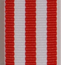 Grosgrain Striped Ribbon - Red