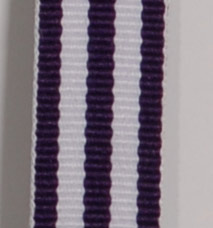 Grosgrain Striped Ribbon - Purple