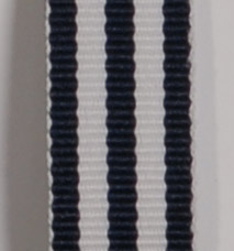 Grosgrain Striped Ribbon - Navy LARGE