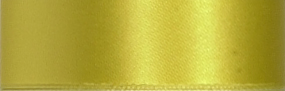 Swiss Double Face Satin Ribbon - Lemon LARGE