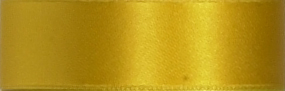 Swiss Double Face Satin Ribbon - Marigold
