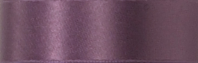 Swiss Double Face Satin Ribbon - Light Plum