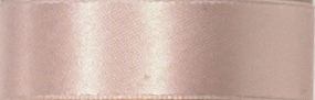 Swiss Double Face Satin Ribbon - Petal Peach