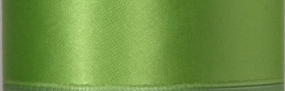Swiss Double Face Satin Ribbon - Lime LARGE