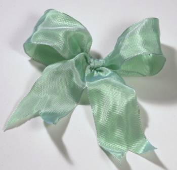 Lyon French Wired Ribbon - Mint Green LARGE