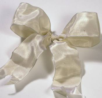 Lyon French Wired Ribbon - Champagne LARGE