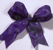 Lyon French Wired Ribbon - Iridescent Purple_THUMBNAIL