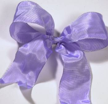 Lyon French Wired Ribbon - Lavender