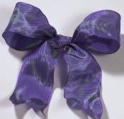 Lyon French Wired Ribbon - Iridescent Lavender