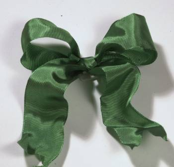 Lyon French Wired Ribbon - Evergreen LARGE