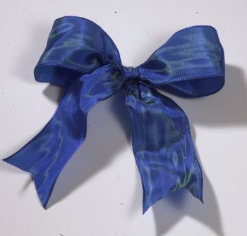 Lyon French Wired Ribbon - Marine Blue