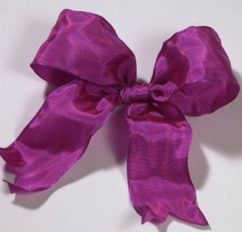 Lyon French Wired Ribbon - Magenta LARGE