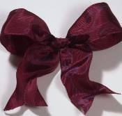 Lyon French Wired Ribbon - Brick Red_THUMBNAIL