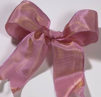 Lyon French Wired Ribbon - Mauve LARGE