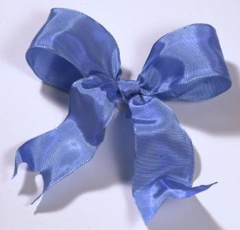 Lyon French Wired Ribbon - Porcelain Blue LARGE