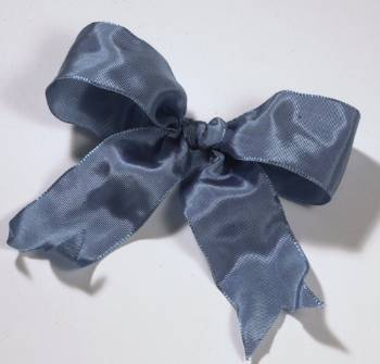Lyon French Wired Ribbon - Williamsburg Blue