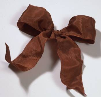 Lyon French Wired Ribbon - Cinnamon