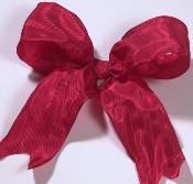 Lyon French Wired Ribbon - Red_THUMBNAIL