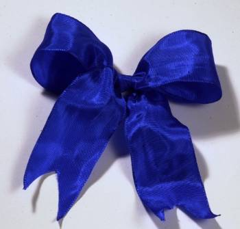 Lyon French Wired Ribbon - Blue