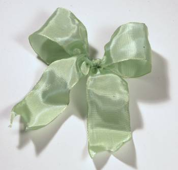 Lyon French Wired Ribbon - Celery LARGE