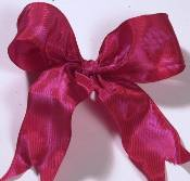 Lyon French Wired Ribbon - Carribean Red_THUMBNAIL