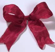 Lyon French Wired Ribbon - Holiday Red_THUMBNAIL
