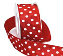 Polka Dot Wired Ribbon