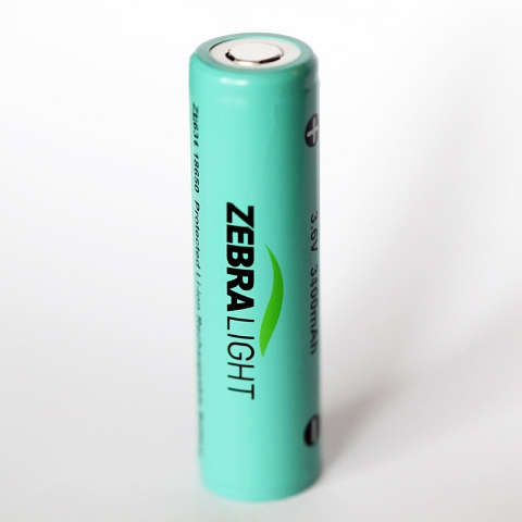 18650 3400mah Protected Li-ion Battery MAIN