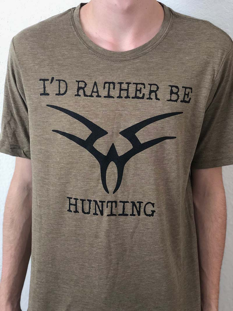 Rather Be Hunting Tee THUMBNAIL