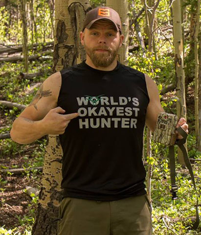 World's Okayest Hunter Sleeveless THUMBNAIL