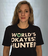 Worlds Okayest Hunter Tee MAIN