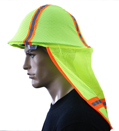Yellow Sun Neck Shade