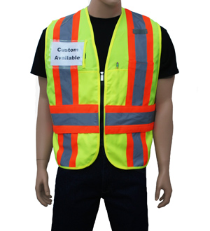 Yellow/Lime Incident Command Vest