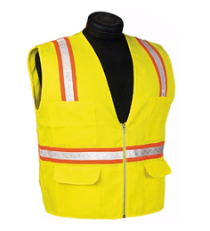 Yellow/Lime Economy Safety Vest